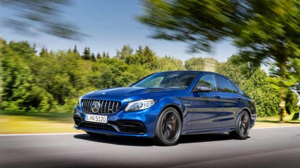 Mercedes-AMG C 63 S saloon front
