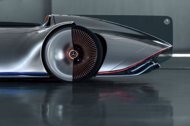 Mercedes-Benz Vision EQ Silver Arrow wheels