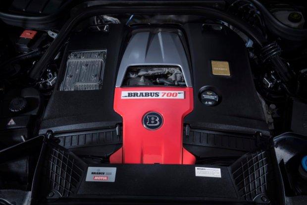 Brabus 700 Widestar engine