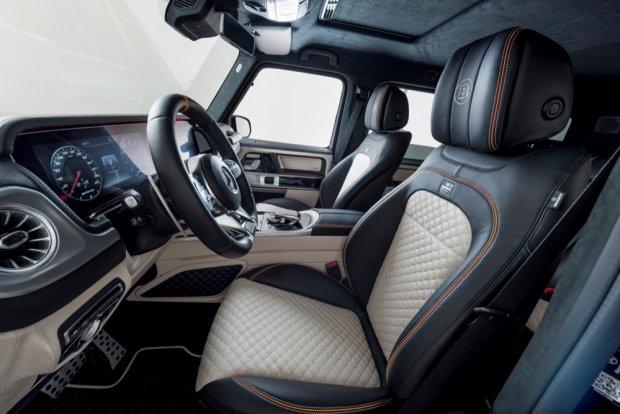 Brabus 700 Widestar interior