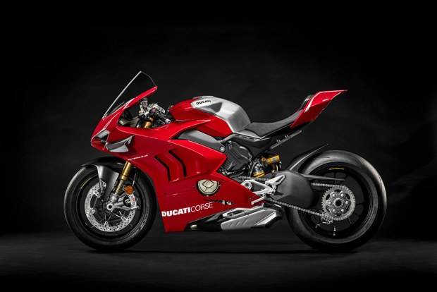 Ducati Panigale V4 R side