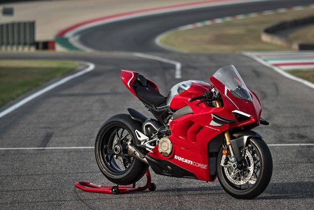 Ducati Panigale V4 R parked