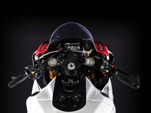 Yamaha YZF-R1 GYTR dash