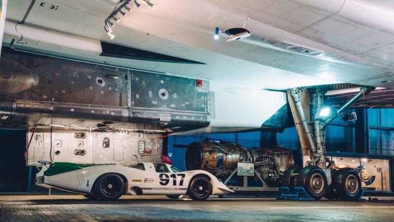 Porsche 917 under Concorde