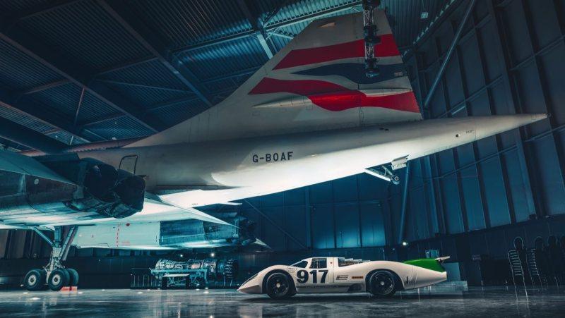 Porsche 917 side profile