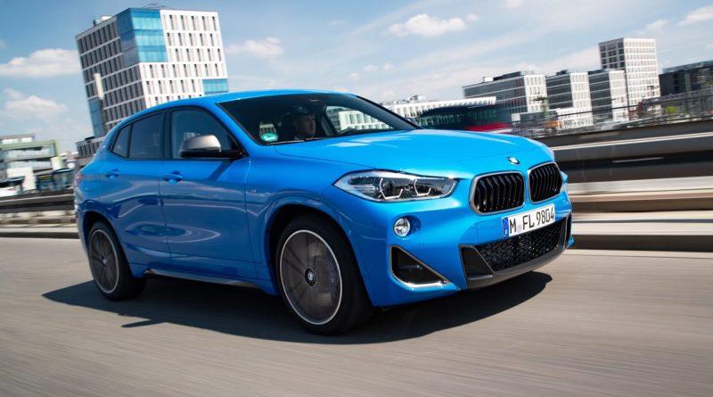 BMW X2 M35i driving