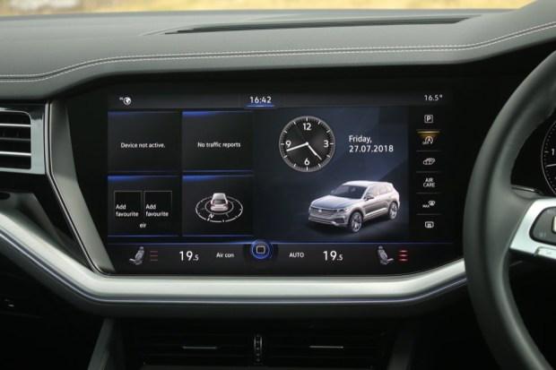 Volkswagen Innovision display