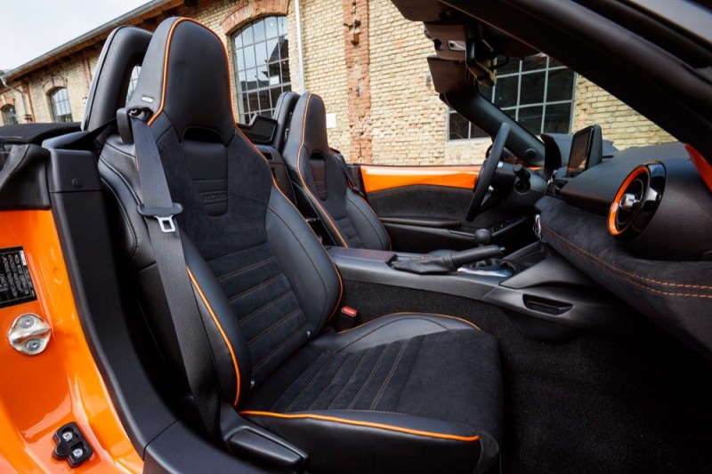 MX-5 Anniversary interior