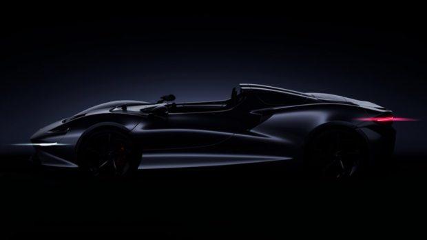 McLaren Roadster render