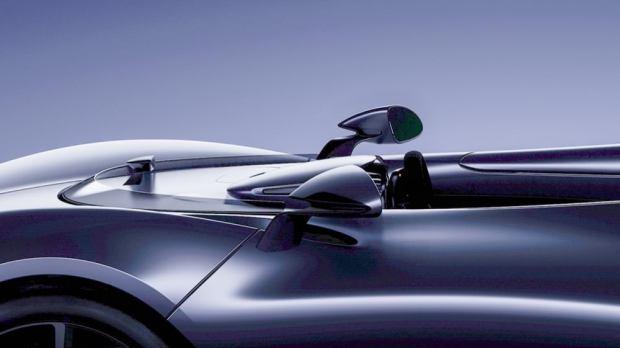 McLaren Roadster screen