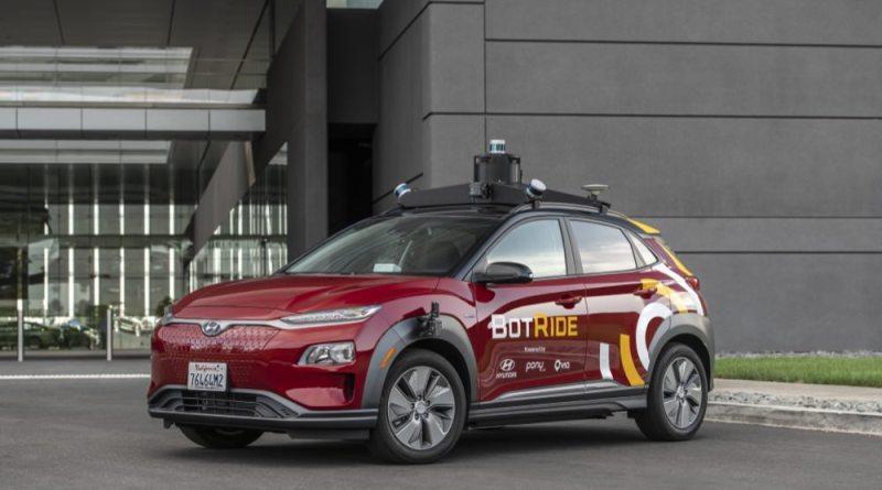 Autonomous Hyundai BotRide car