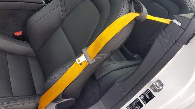 Polestar 1 seatbelt