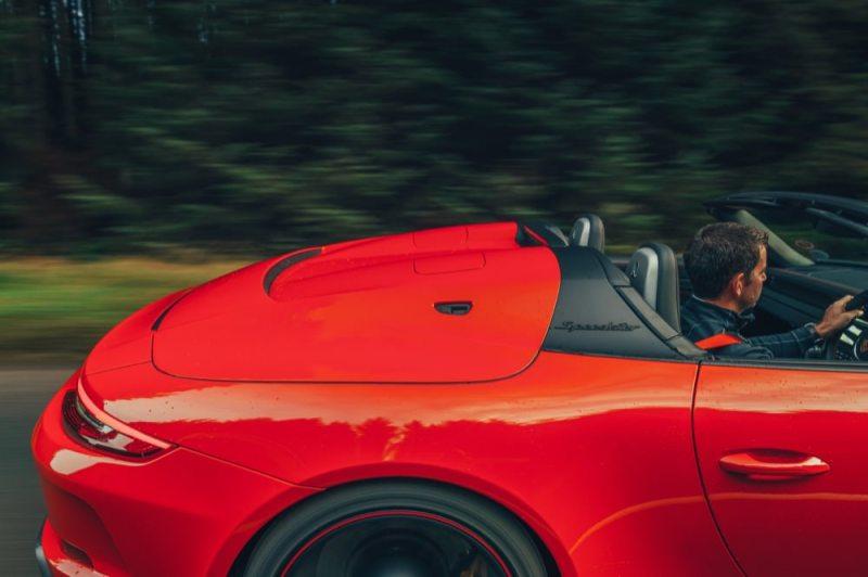 Porsche 911 Speedster rear deck