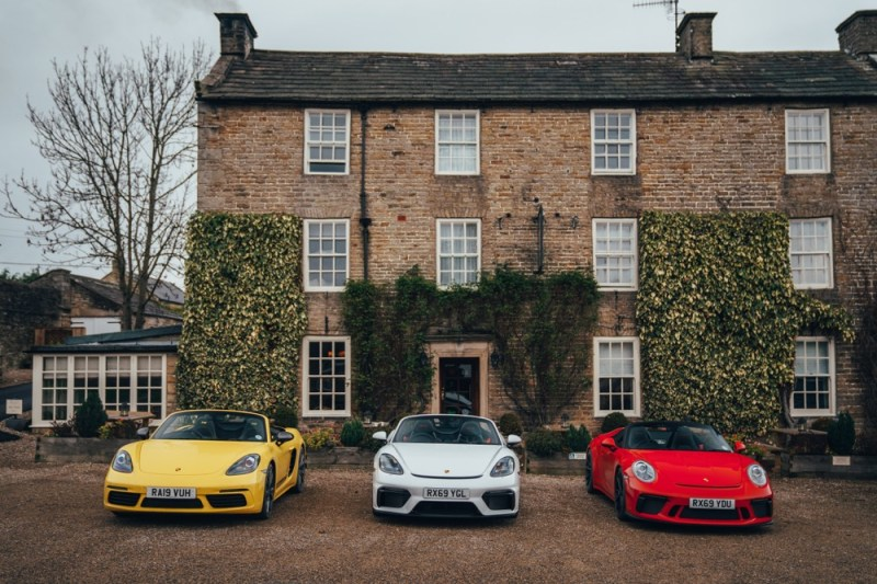 Porsche trio