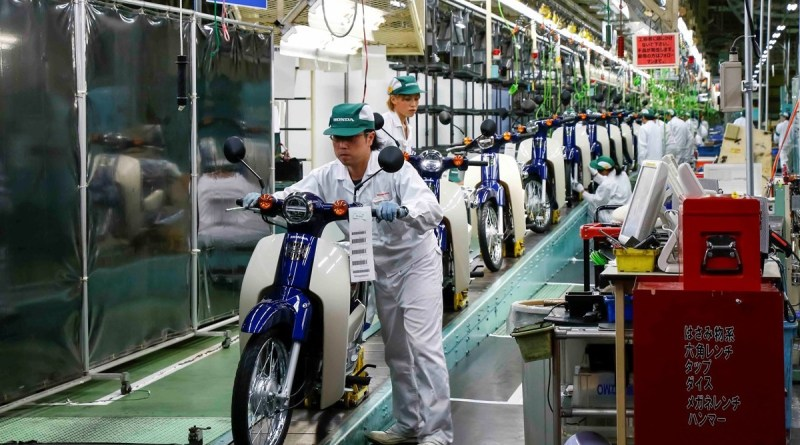 Honda Cub production