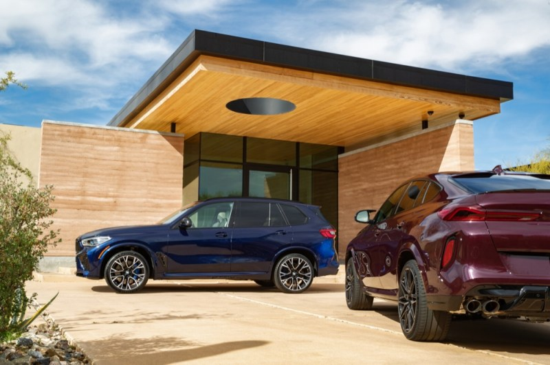 BMW X5M and X6M parked