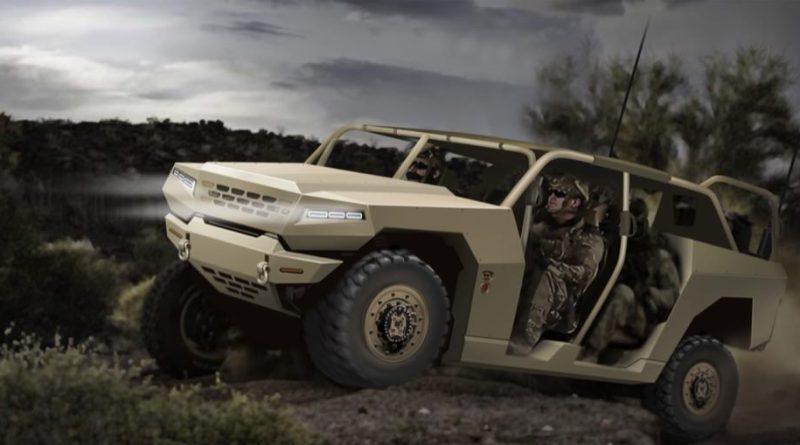 Kia military vehicle