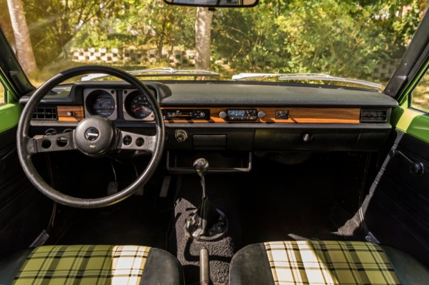 Mazda 323 1979 interior