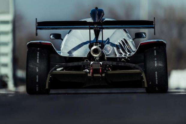 Praga R1 rear