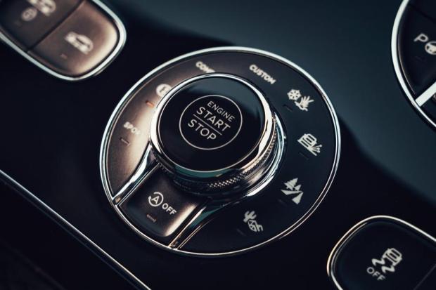 Bentley Bentayga V8 controls