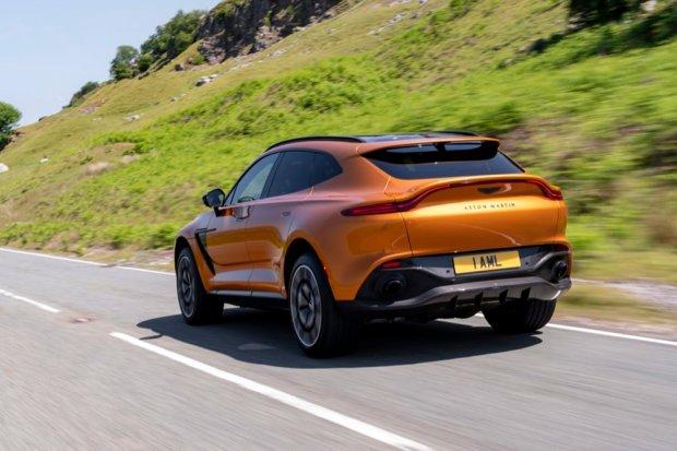 Aston Martin DBX rear