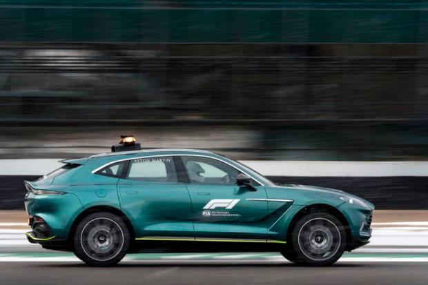 Aston Martin Safety Car Medical Car