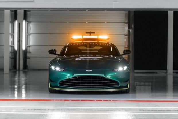 Aston Martin Safety Car front