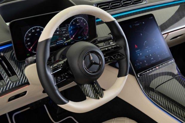 Brabus S-Class steering wheel