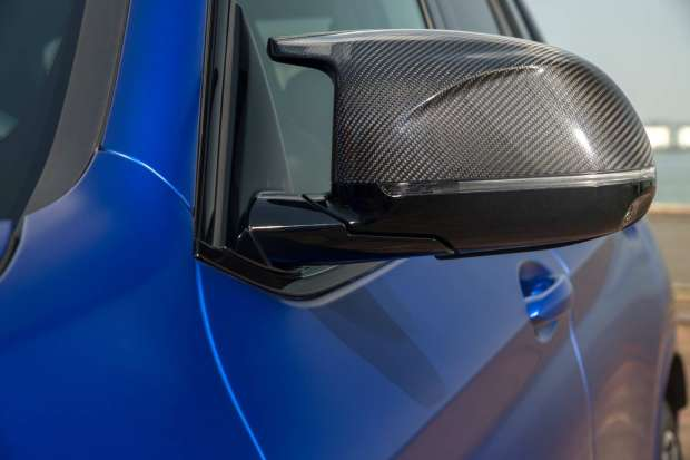 BMW X3 M Competition mirror