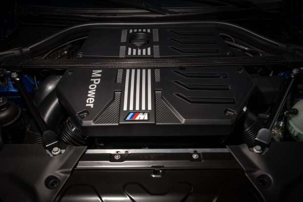 BMW X4 M Competition engine