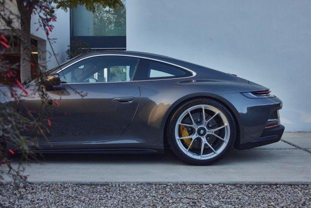 992 Porsche 911 GT3 Touring side