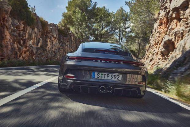 992 Porsche 911 GT3 Touring exhaust