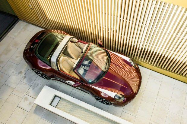 Porsche 911 Targa 992 top