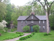 Louisa May Alcott House in Concord, Massachusetts
