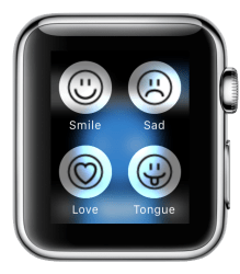 Support image Apple Watch 4 - eyeFree