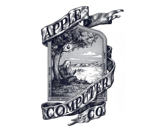 Apple's original logo