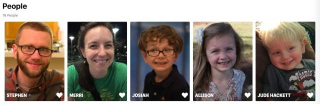 Faces in Photos 3.0