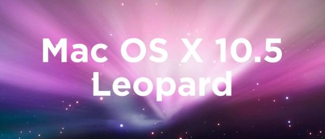 Mac OS X 10.5 Leopard