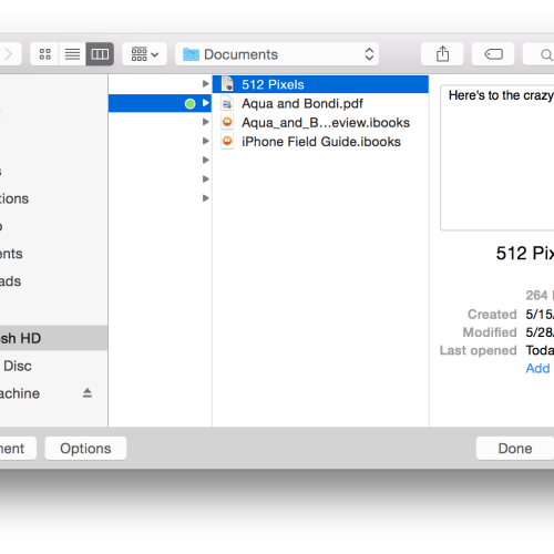 OS X 10 10 Yosemite – 512 Pixels