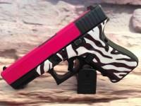 Hot Pink Slide / Zebra Frame