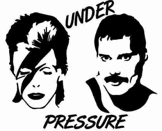 David And Freddy Under Pressure Decal High Caliber Graphix