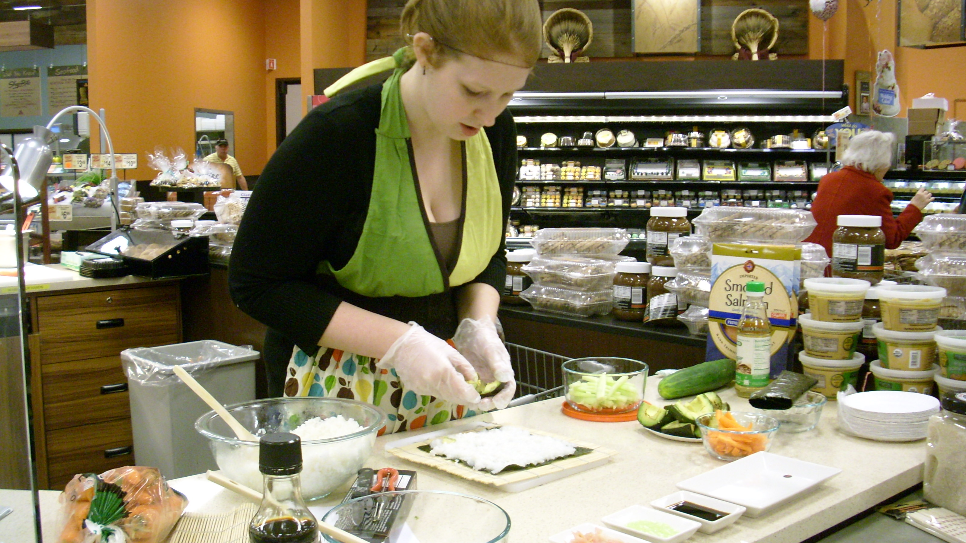 How-To Make Sushi at ShopRite, Slingerlands [PHOTOS]