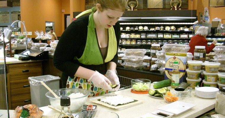 How-To Make Sushi at ShopRite, Slingerlands