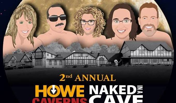 Howe Caverns Hosting Second 'Naked in a Cave' Event
