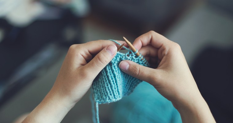 Knitting Group Helps Cancer Patients at Albany Med