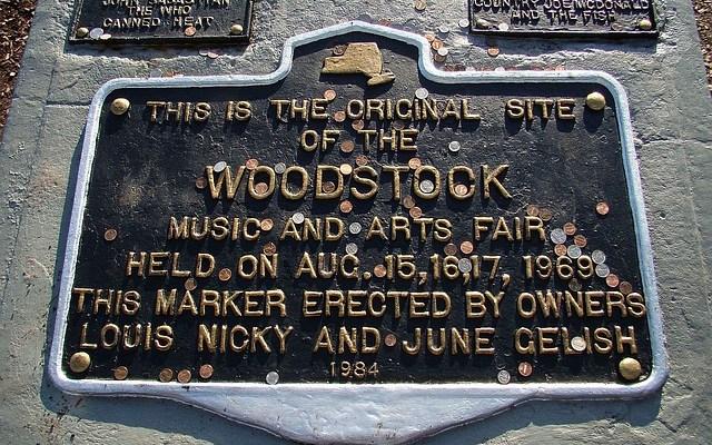 Woodstock Fan Selling Piece of Original 1969 Stage [VIDEO]