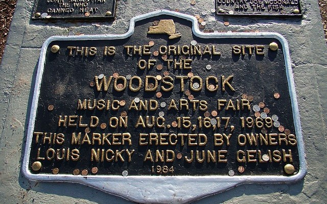 Woodstock Fan Selling Piece of Original 1969 Stage [VIDEO]