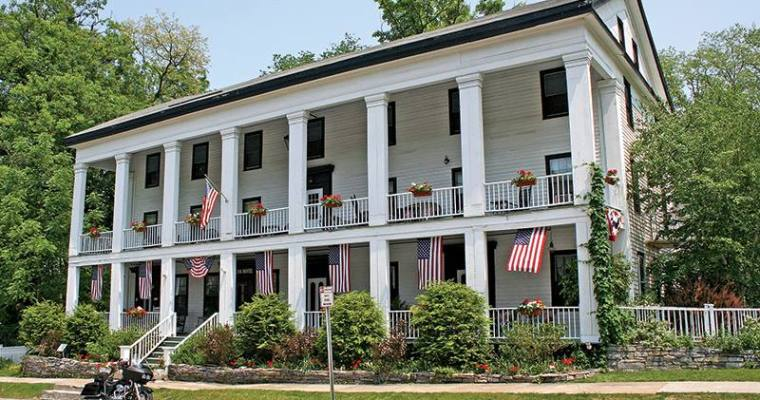 Famous Sharon Springs Hotel for Sale