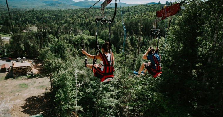 Lake Placid Opens Brand New Zipline