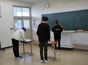 生徒会立会演説会・投票